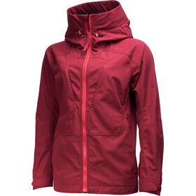 Lundhags Habe Jacket Women dark red